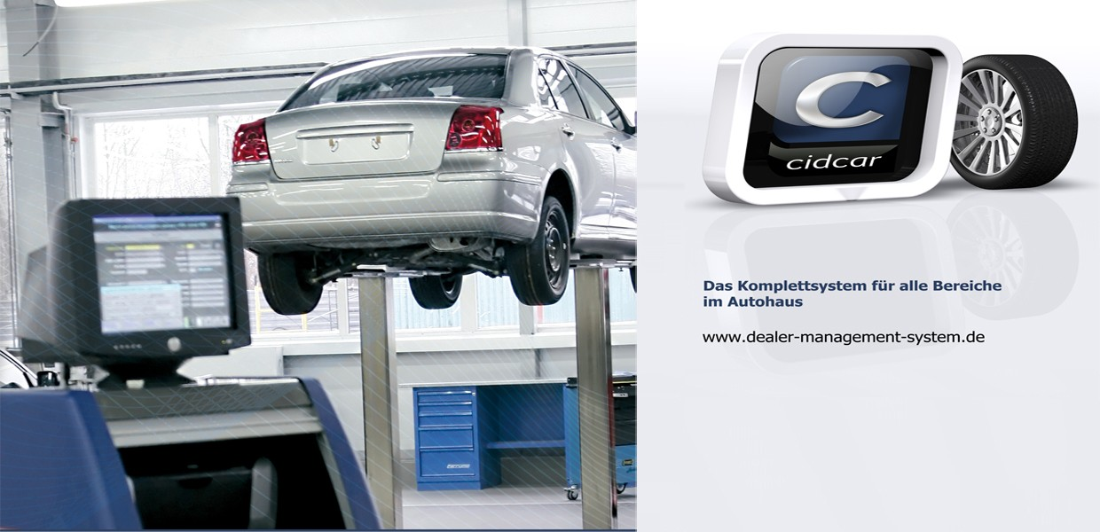 cidcar - Das Dealer-Management System